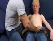 teen Twink Abused By older Daddy