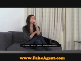 FakeAgent French mistress gets exploited in casting by ReallyUseful