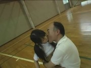 Naive Japanese schoolgirl (18  ) abused b .