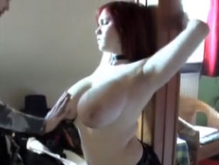 Busty Redheaded German young