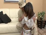 Soldier teaches sex to arabic woman