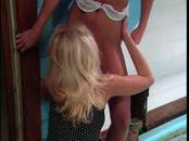 Lusty Lesbians Worship 1 Another In The Bath tub