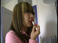 Shy Lin Yao, little chinese broad fucked by four french men