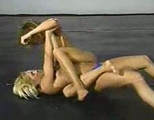 Fitness models topless wrestling classic part two