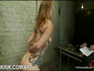 Slave hot broad entertains her hubby.