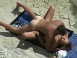 Spying my aunt with her toyboy on the beach by sexy_amateurs