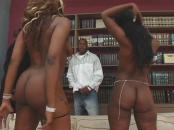 black ladies go crazy on a brothers big meat