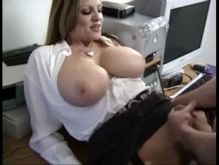 massive Tit Office lady In Stockings Craz.