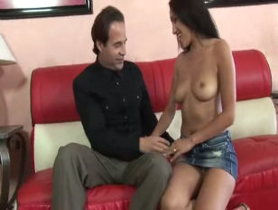 Vicki chase gets a deep creampie