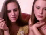 2 drunk lesbian girls swowing up on webcam by blairebear