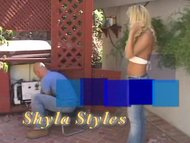 butthole ladies Shyla Stylez