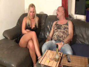 German lady plowed by old fat lover