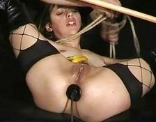Bizarre Anal Banana Humiliation and Sick Torments