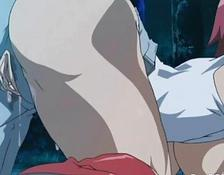pretty hentai caught and hammered by tentacles woman