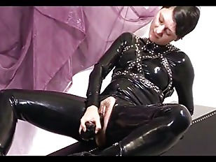naughty domina dildos her cunt