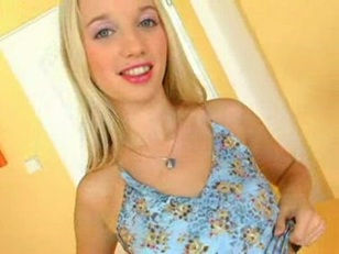 sweet blondy nailed and creampied