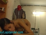 Czech teen does superhot lapdance with blowjob by lya12