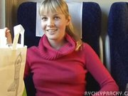 Public sex in train wweet Czech young