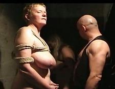 naughty Bondage and oral sex Foursome