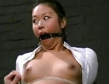 chinese Babes Bondage And Pain of dirty asian
