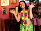 charming MILFs hawaiian hula dance and squirting snatch by spunker1