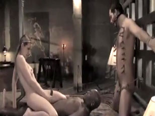 2 slaves for the mistress