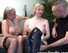 British MILF skanks getting anal plowed