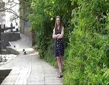pretty british teenie laura is hothorny and in public
