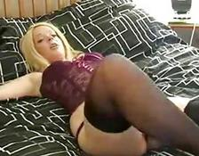British charming MILF Fucking For Money
