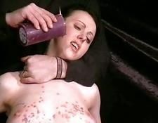 snatch Waxing A British Slave