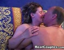 Horny british couple