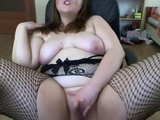 horny chubby british slut masturbates on webcam by blairebear