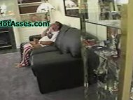 slutty Step Father rides young Step Daughter teenie 18
