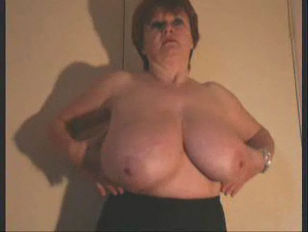 British older huge breasts
