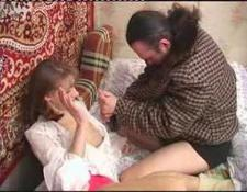 Drunk elder brother forced sister lick and fuck