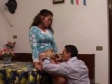 Italian hispanic Taboo sex with step Brother in front of old uncle by suferboss
