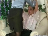 Hot busty cougar brunette gets wet snatch by goranito