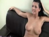 Polish Casting Audition and Sex Interview of Brunette Babe Pornstar by zonapona