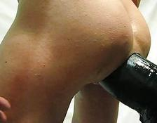 massive dildo and fist my booty