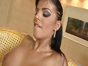 Crazy hot brunette likes anal