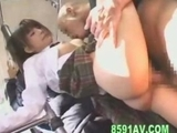 schoolgirl loves to blow geek meat and plowed by him on bus by bonbonme