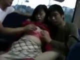 horny milf enjoys pounded by geek on bus two by jizz99