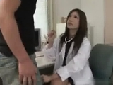 fine Japanese Doctor Gets Creampie by kittywitty