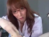 Doctor Giving Handjob For Patient sperm To Rubbed Gloves Tasting Semen In The Surgery by japlez
