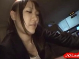 Office woman Giving blowjob spunk To Mouth In The Car by benkonrakjing