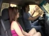 Outdoor sex in car with Ashlyn rae pretty charming teen babe by zonapona