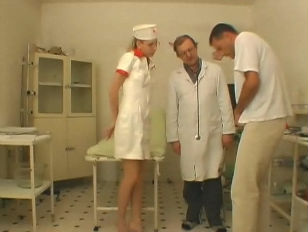 Nurse Wants to Play Doctor