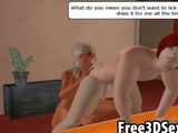 Hot 3D cartoon couple imagine their fuck fantasies by to0niet4rt