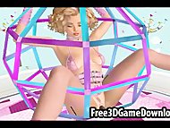 slutty and teen 3d cartoon babe trapped in a fucking toy