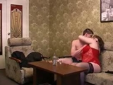 Mother and boy drunk  filmed on spycam by anonymous